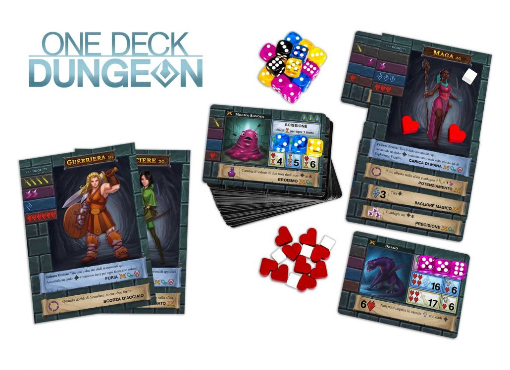 one deck dungeon edizione italiana