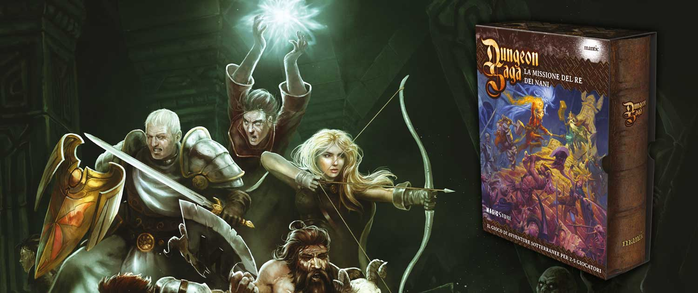 Dungeon Saga Edizione Italiana
